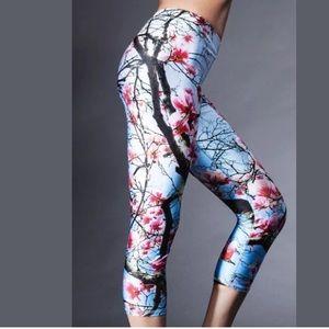 67b690fa9e73c Zara Terez Pants - Zara Terez Cherry Blossoms Floral Capri Leggings
